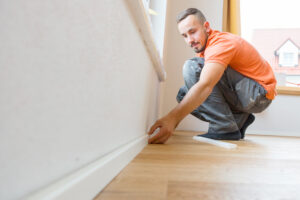 size of skirting board